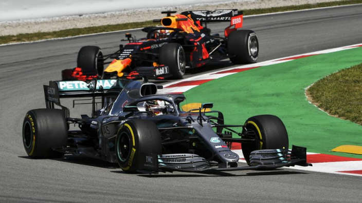 Verstappen: Mercedes quicker than Red Bull in every corner