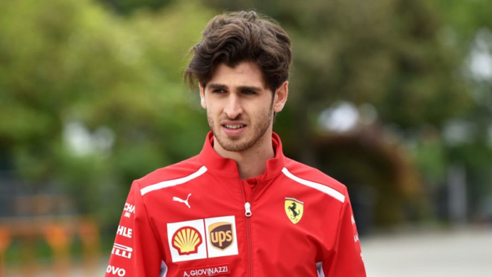 Giovinazzi leads calls for rear view cameras to be added to F1 cars