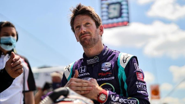 Grosjean edges closer to Indy 500 by announcing debut oval outing