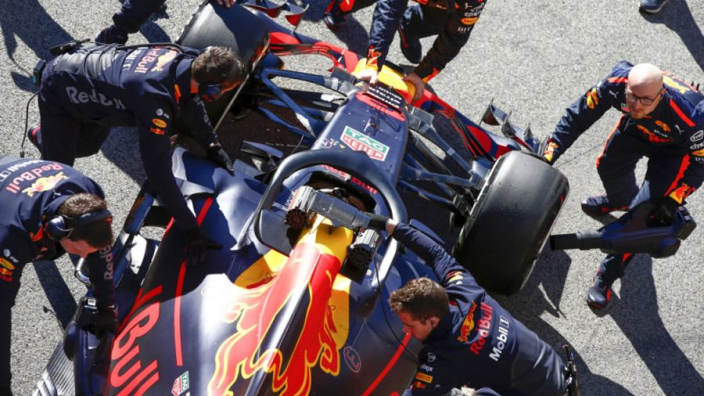 Red Bull's Honda engine developed further than McLaren's