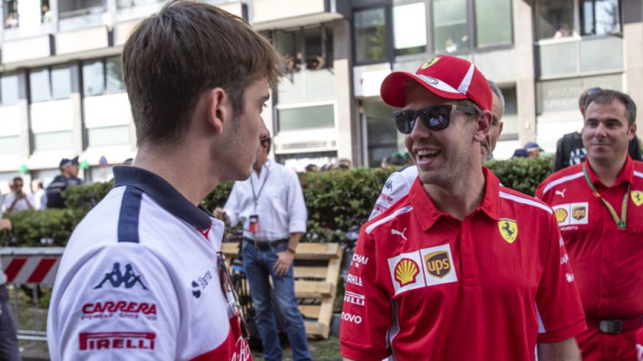 Ferrari admit Vettel could be prioritised over Leclerc