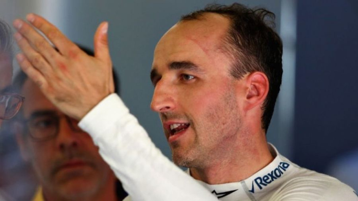 Kubica a 'rookie' in modern F1 car