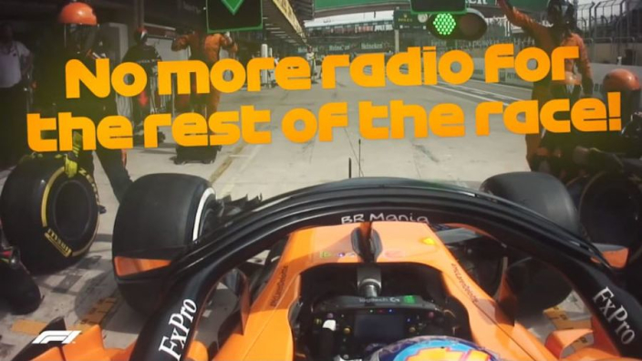 VIDEO: Alonso's season summed up in 52 seconds