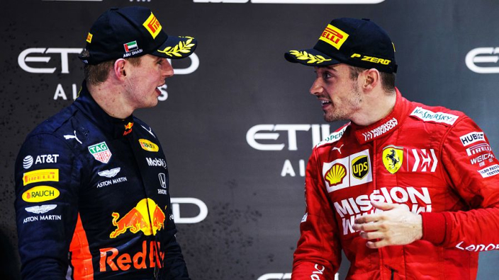 Leclerc admits Verstappen makes him an 'aggressive' driver