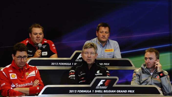 Brawn not going to tell Ferrari boss Binotto what to do