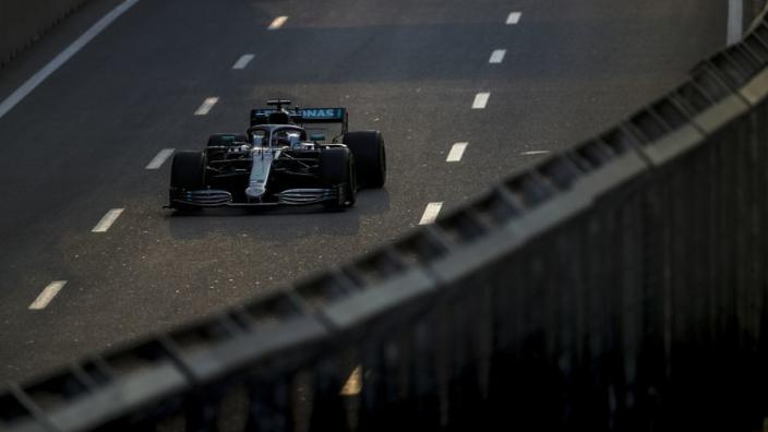 La grille de départ du GP d'Azerbaïdjan