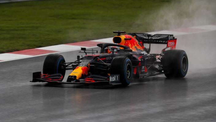 """Verstappen na bizarre kwalificatie en P2: """"Ben teleurgesteld, intermediate verschrikkelijk"""""""