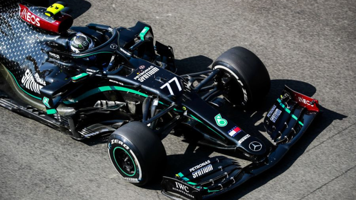 Two red flags as Bottas clean sweeps Friday practice at Mugello