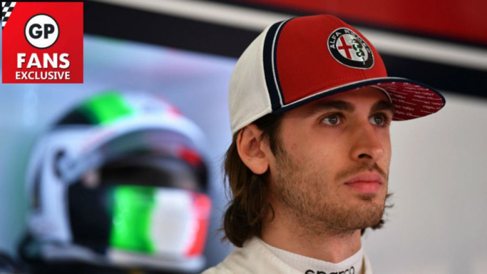 Giovinazzi excited for role in F1's Italian revival at Alfa Romeo
