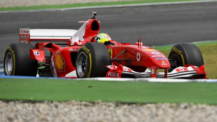VIDÉO : Mick Schumacher pilote la Ferrari F2004 à Hockenheim