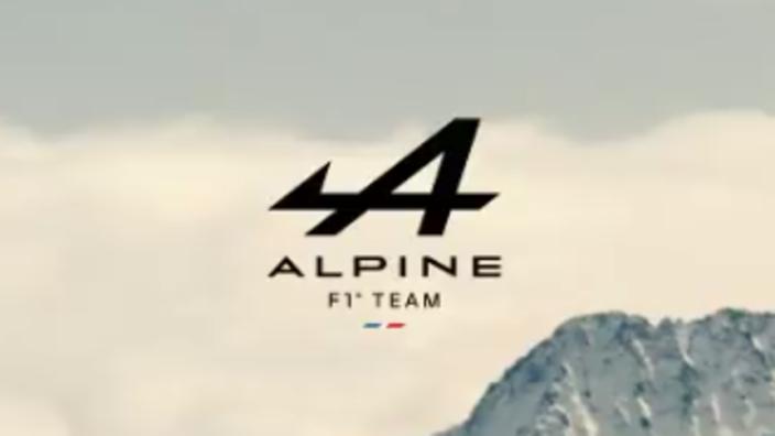 Alpine F1 onthult het nieuwe, officiële logo
