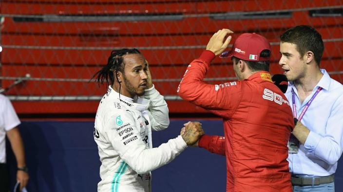 Leclerc would match Hamilton at Mercedes, says Briatore