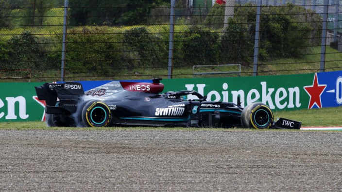 Why Hamilton avoided penalty for reversing on track