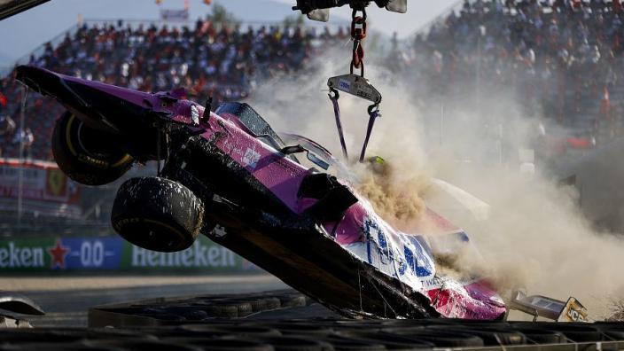 Racing Point in tijdnood na harde crash Stroll op Mugello