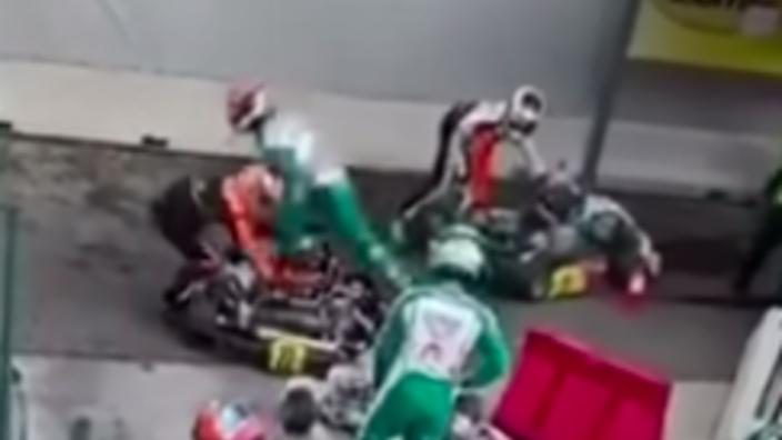 Brawling karter Corberi pursues shock appeal of FIA ban
