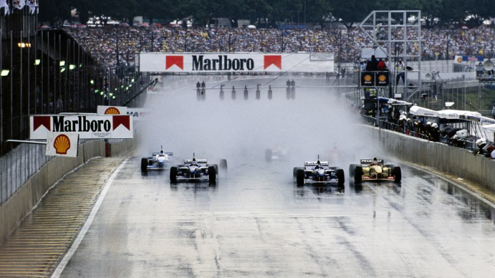 Damon Hill on lightning strikes, drenched grid girls and driving like a God