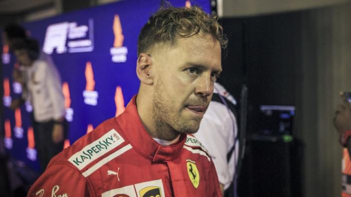 Vettel left 'on his own' in title battle
