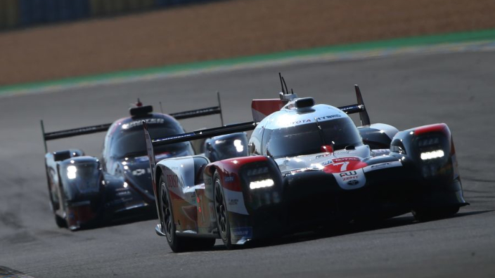 Toyota takes pole, Rebellion second in Hyperpole at Le Mans