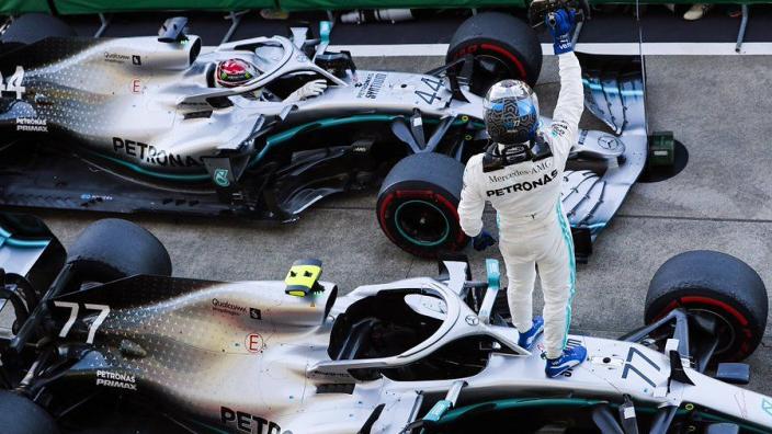 Mercedes' hybrid-era dominance in numbers