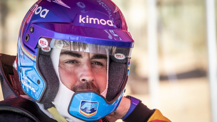 VIDEO: Alonso tests Dakar Rally machinery
