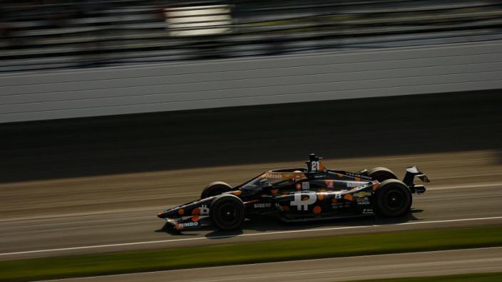 Rinus van Kalmthout pakt plek op eerste startrij voor Indy 500