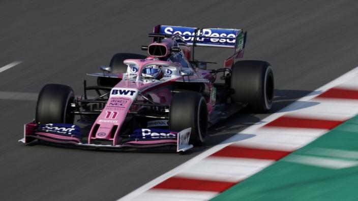Sergio Perez verheldert waarom Racing Point vrij weinig heeft gereden in eerste testweek