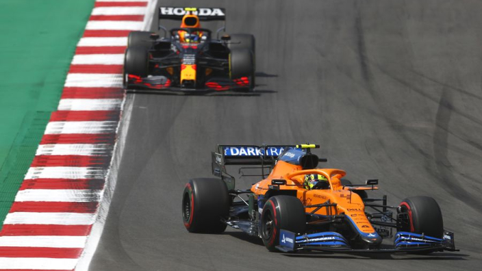 """Norris on """"all-time high"""" with McLaren after finishing best of the rest in Portugal"""