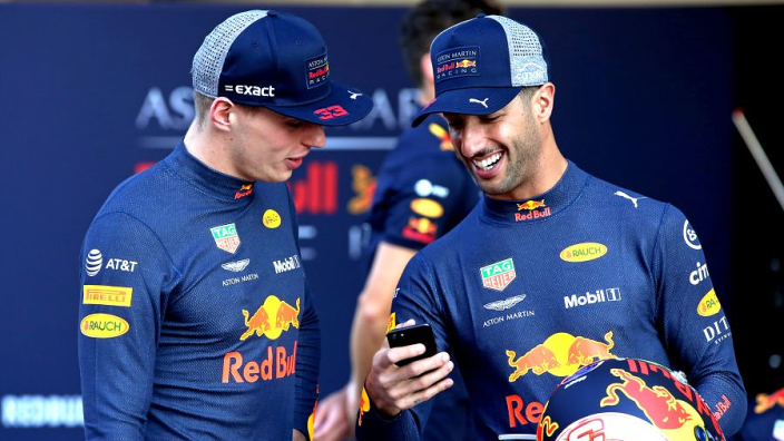 """Verstappen and Ricciardo """"wanted to end each other's careers"""""""