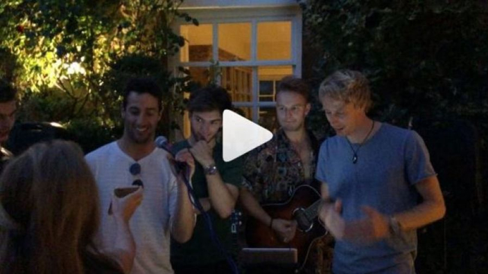 VIDEO: Ricciardo and Verstappen are the Spice Boys!