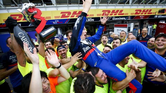 Kvyat should 'have more kids!' jokes Horner after German GP