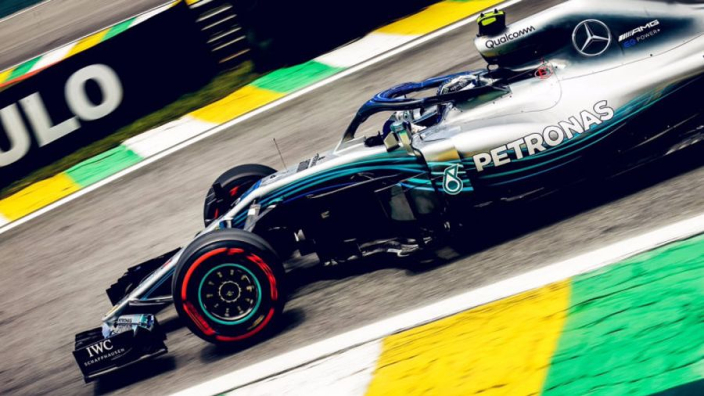Bottas heads tight squeeze FP2 after Hulkenberg smash