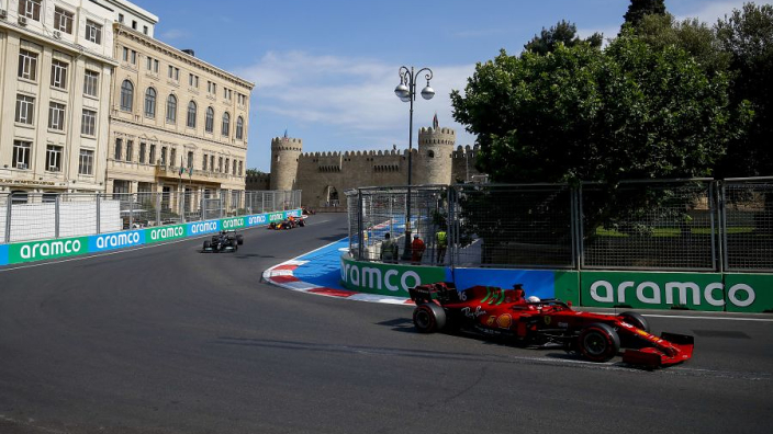 How Leclerc Baku podium chances were uprooted by a tree branch
