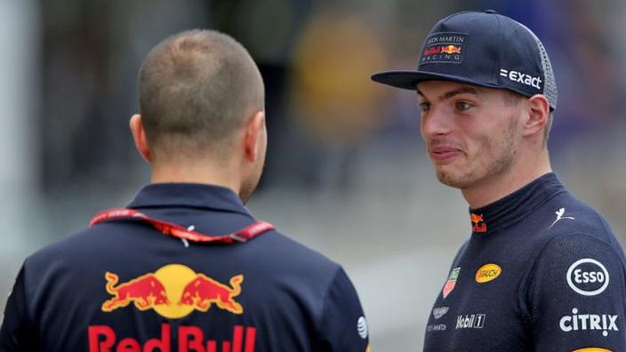 Verstappen pokes fun at Vettel's title hopes