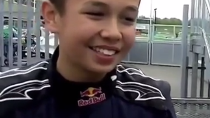 VIDEO: Alex Albon talks about Red Bull dream...at 14-years-old!