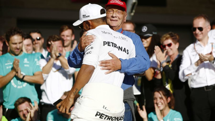 Hamilton: Mercedes title win not the same without Lauda