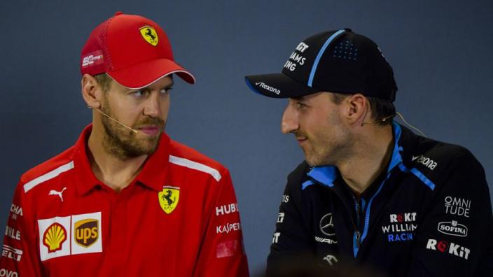 """Kubica twijfelt aan toekomst Vettel: """"Soms is de wil hebben niet genoeg"""""""