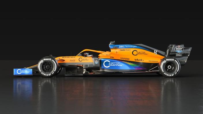 Tweaked McLaren livery further incorporates the #WeRaceAsOne rainbow