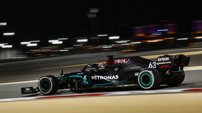 Hamilton stand-in Russell at the double as Bottas suffers practice blues