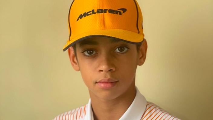 McLaren sign rising American karting star