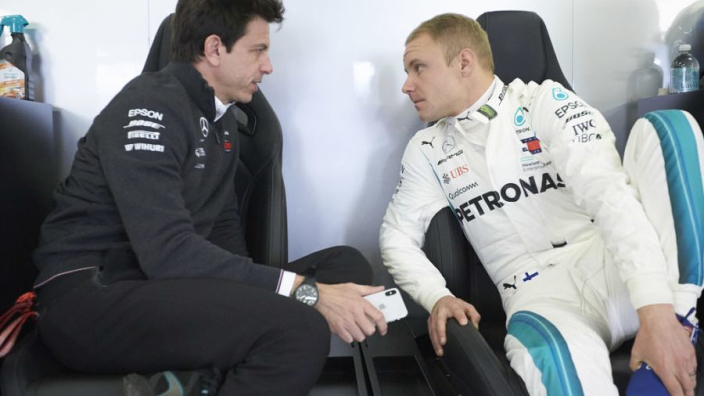 Villeneuve questions Mercedes' treatment of Bottas