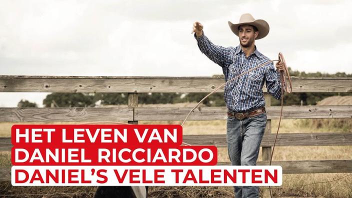 De hilarische verborgen talenten van Daniel Ricciardo | Het leven van Ricciardo #1