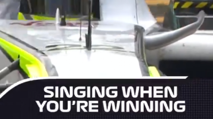 VIDEO: Drivers hit the high notes!