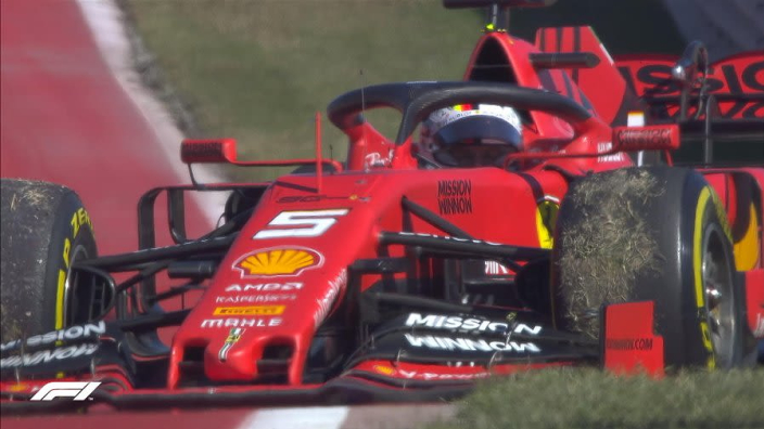 Vettel's stunned by COTA DNF: 'No idea what happened'