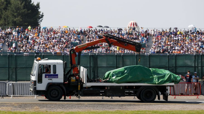 """Masi reageert op rode vlag: """"De auto van Verstappen had een telemetriestoring"""""""