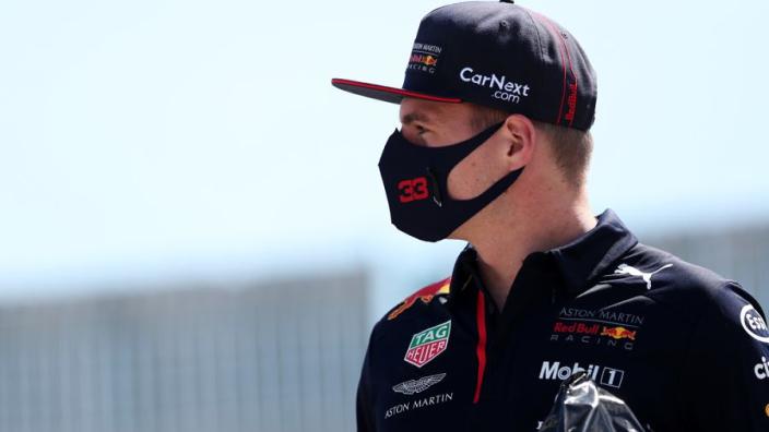 """Verstappen na sensationele zege: """"Ik wilde Mercedes onder druk zetten"""""""