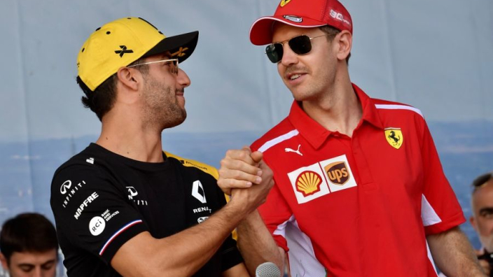 'Ferrari eye Ricciardo and Bottas to replace Vettel'