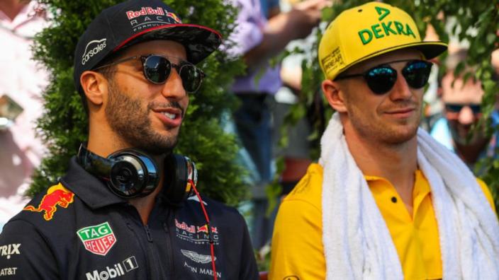 Nico Hülkenberg: 'Waarschijnlijk een tandje bijzetten voor Ricciardo'