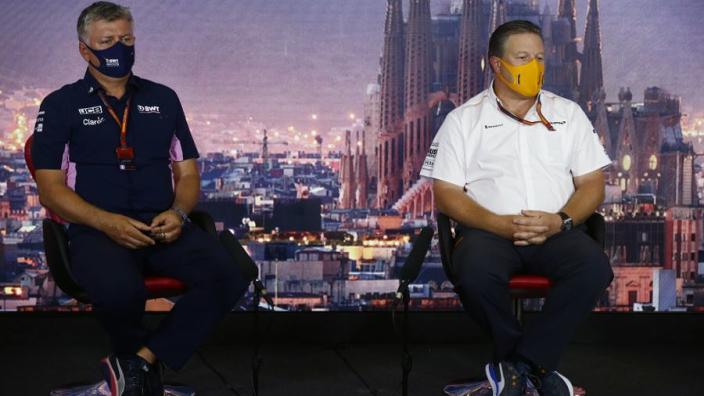 Brown haalt uit richting Racing Point: 'Met McLaren nog nooit een boete gekregen