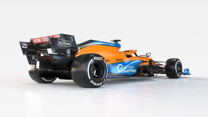 How McLaren has 'shoehorned' Mercedes engine into its MCL35M
