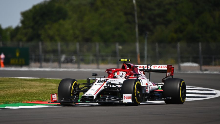 Giovinazzi warned after causing Silverstone red flag